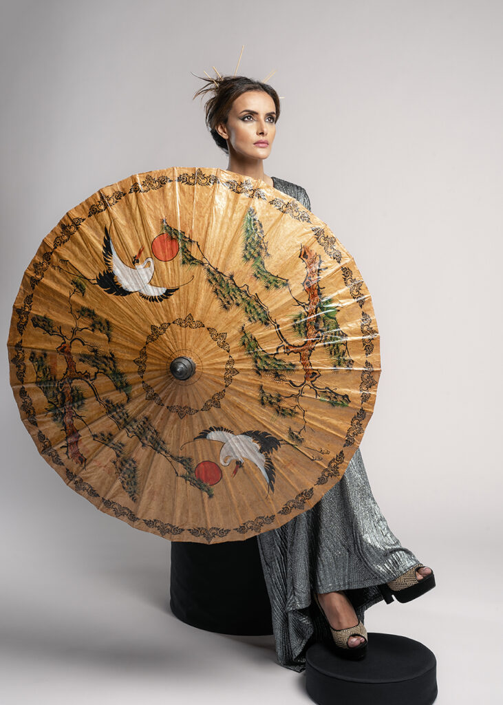 This project is inspired by traditional Japanese Umbrella.